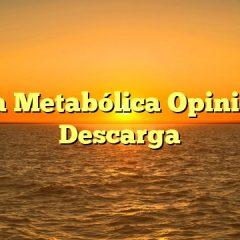 Cocina Metabólica Opiniones y Descarga
