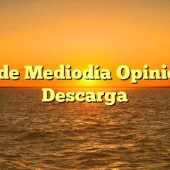 Dieta de Mediodía Opiniones y Descarga