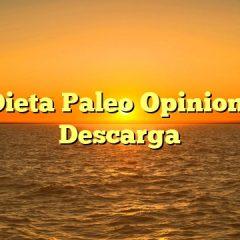 Mi Dieta Paleo Opiniones y Descarga