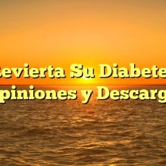 Revierta Su Diabetes Opiniones y Descarga